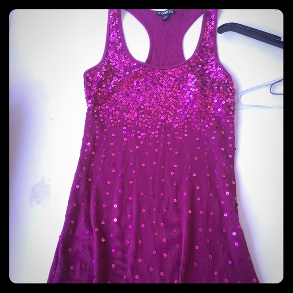 Express Tops - Sequined tank